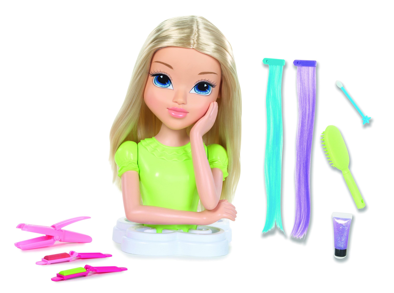 Головы кукол мокси для причесок и макияжа